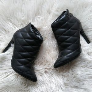 NWOB quilted booties